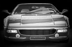 Sports Car Front End Royalty Free Stock Image