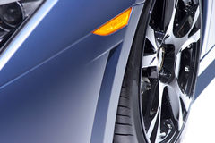 Sports Car Front End Close Up Royalty Free Stock Photo