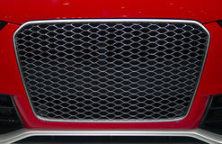Sports Car Front Grill Royalty Free Stock Photography
