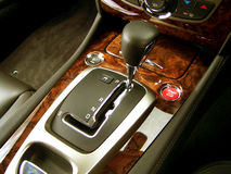 Sports Car Gear Stick Stock Images