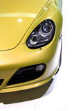 Sports car head lamp Stock Photography