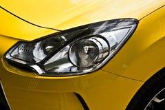 Sports car headlight Stock Photos
