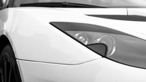 Sports car headlight. Stock Photo