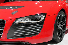 Sports car headlight Stock Image