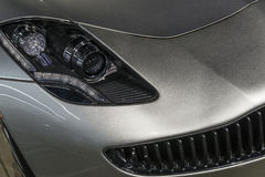 Sports Car headlight Stock Image