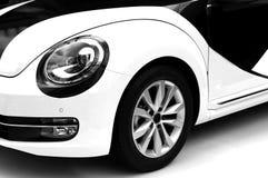 Sports car headlight and wheel Stock Photos