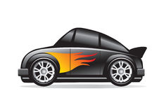 Sports car illustration. An illustration of a sports car Royalty Free Stock Images