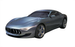 Sports Car Isolated Stock Image