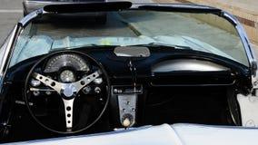 Sports car interior Royalty Free Stock Photo