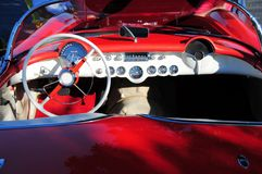 Sports car interior Royalty Free Stock Photography