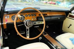 Sports car interior Stock Photos