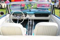Sports car interior Stock Photography