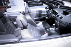 Sports car interiors Stock Photography