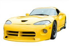 Sports Car Isolated royalty free stock photography