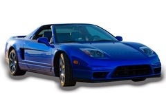 Sports Car Isolated Stock Photography