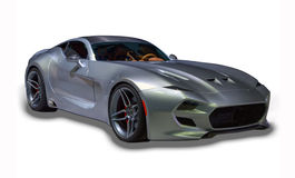 Sports Car Isolated Royalty Free Stock Images
