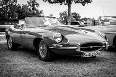 Sports car Jaguar E-Type Mk1. Stock Photo