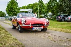 Sports car Jaguar E-Type Mk1. Royalty Free Stock Photo