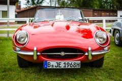 Sports car Jaguar E-Type Mk1. Stock Photography