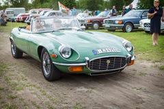 Sports car Jaguar E-Type Mk2. Stock Image