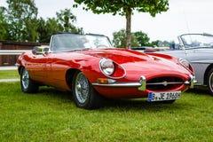 Sports car Jaguar E-Type Mk1. Royalty Free Stock Images
