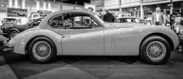 A sports car Jaguar XK140 Coupe, 1956 Stock Image