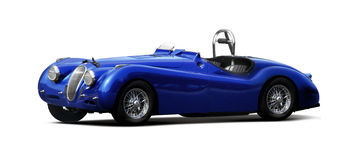 Sports car - Jaguar XK140 Stock Photography