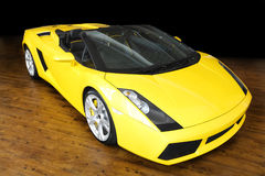 Sports car Lamborghini Royalty Free Stock Image
