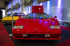 Sports car Lamborghini Countach LP500S, 1984. Royalty Free Stock Photo