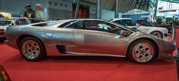 Sports car Lamborghini Diablo 5.7, 1995. Stock Photos