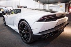 Sports car Lamborghini Huracan LP 610-4, 2014. Royalty Free Stock Image