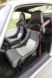 Sports car leather seats Stock Image