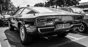 Sports car Maserati Khamsin Stock Images