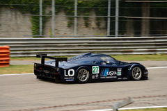Sports car Maserati MC12 at Monza Royalty Free Stock Photo