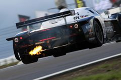 Sports Car,Maserati MC12(FIA GT) Royalty Free Stock Photography