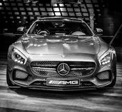 Sports car Mercedes-AMG GT S Coupe (C190) Royalty Free Stock Photography