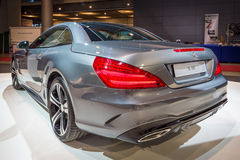 Sports car Mercedes-Benz SL 400 (R231), 2016. Royalty Free Stock Photo