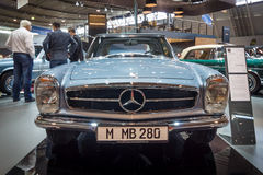 Sports car Mercedes-Benz 280 SL W113, 1968. Stock Photos