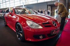 Sports car Mercedes-Benz SLK 200 Kompressor (R171), 2006. Royalty Free Stock Image