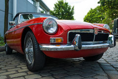 A sports car MG MGB 1800 convertible Stock Photos