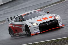 Sports Car,Nissan GT-R(FIA GT) Royalty Free Stock Photo