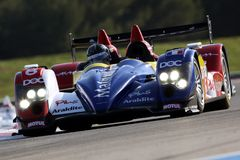 Sports Car,Oreca 01-AIM(LMS) Royalty Free Stock Images