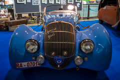 Sports car Peugeot 402 Darl`mat Special Sport Roadster, 1937. Stock Photography