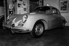 Sports car Porsche 356 Coupe Stock Photo