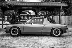 Sports car Porsche 914 Targa. Stock Photo