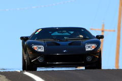 Sports car race Stock Images