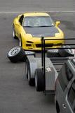 Sports Car Racing Stock Photography