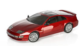 Sports car red Royalty Free Stock Photography