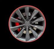 Sports car rim. Royalty Free Stock Photos