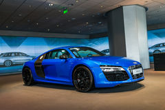 Sports car for sale,audi R8 Stock Photo